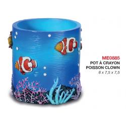 Pot à Crayon Poisson Clown