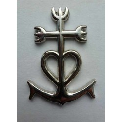 Magnet Croix de Camargue Métal