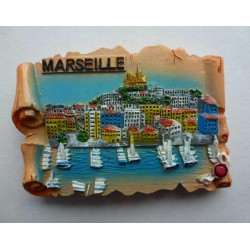 Magnet Résine Marseille 04