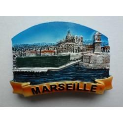 Magnet Résine Marseille 16