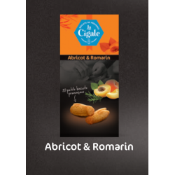 "Biscuits ""La Cigale"" Abricot & Romarin"