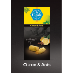 "Biscuits ""La Cigale"" Citron & Anis"
