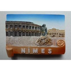 Magnet Résine Les Arènes de Nîmes / Torero