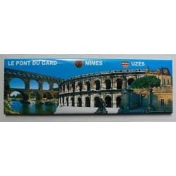 Magnet Panoramique Pont du Gard / Nîmes / Uzès