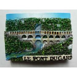 Magnet Résine Pont du Gard 01