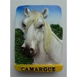 Magnet Résine Cheval Camargue 07