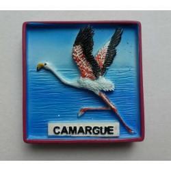 Magnet Résine Flamant Rose Camargue 11