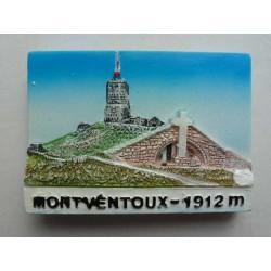 Magnet Résine Mont Ventoux Sommet