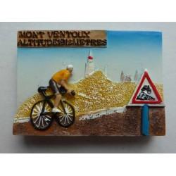 Magnet Résine Mont Ventoux Vélo