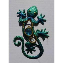 Magnet Lézard en Métal Turquoise 03