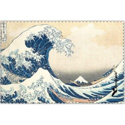 Chif' Fou' Net La Vague Hokusaï