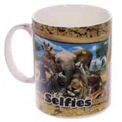 Mug Selfie Animaux d'Afrique