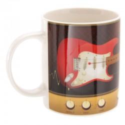 Mug Guitare Rouge