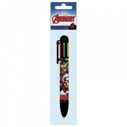 "Stylo 6 couleurs ""Avengers"""