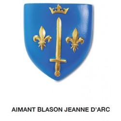 Magnet Aimant Blason Jeanne d'Arc