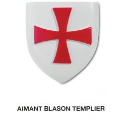 Magnet Aimant Blason Templier