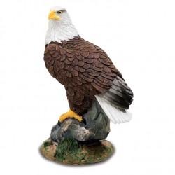 Statuette Aigle sur Rocher