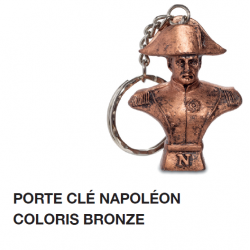 Porte-Clés Napoléon Coloris Bronze