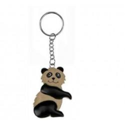 Porte-Clés Panda en Bois