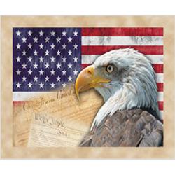 Tapis de Souris Aigle USA 1
