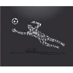 Tapis de Souris Football Moderne