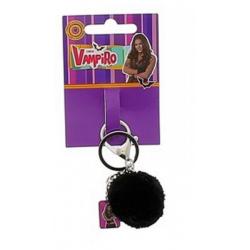 Porte-Clés + Pompon Noir Chica Vampiro 1