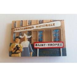 Magnet Résine Gendarmerie Nationale St Tropez