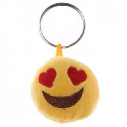 Porte-clés Moelleux Smiley Amour avec Son