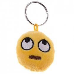 Porte-clés Moelleux Smiley Etonné avec Son