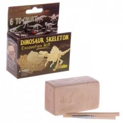 Kit de Fouille Squelette de Dinosaure Petit Format