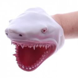 Marionnette à Mains Tête de Requin Gris