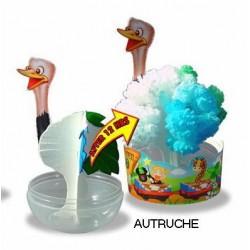 Eclosion Autruche - Zoo Papier Magique