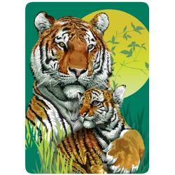 Tigres Peinture