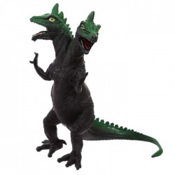 Jouet Dinosaure à 2 têtes (vert)