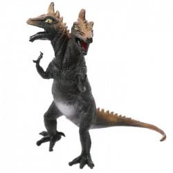Jouet Dinosaure à 2 têtes (gris marron)