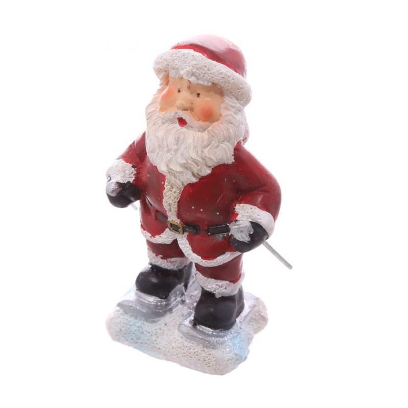 mini figurine p re no l ski avec petit sac cadeau marcoeagle. Black Bedroom Furniture Sets. Home Design Ideas