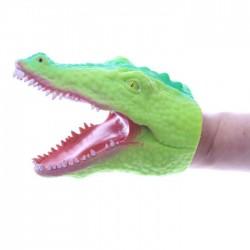 Marionnette à Mains Crocodile Vert