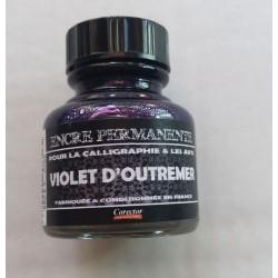 Encre Permanente VIOLET D'OUTREMER - 30 ML