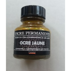 Encre Permanente OCRE JAUNE - 30 ML