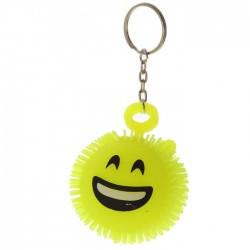 Porte-Clés Anti-Stress Lumineux Smiley Emoti Smile
