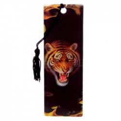 Marque Page 3D  Tigre