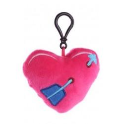 Porte-clés Moelleux Coeur avec Son