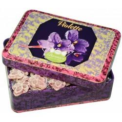 Bonbons Violette Boîte Fer
