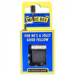 "Boîte à Musique ""For He's a Jolly Good Fellow"""