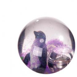 Balle Rebondissante Lumineuse Pingouin