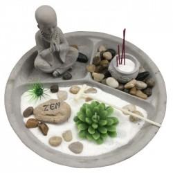 Jardin Zen Bouddha - Forme Ronde