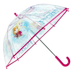 Parapluie Reine des Neiges Transparent