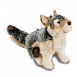 Peluche Loup Hurlant Sonore 26 cm