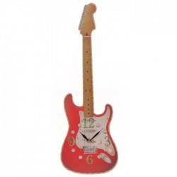 Horloge Découpée Guitare par Ted Smith