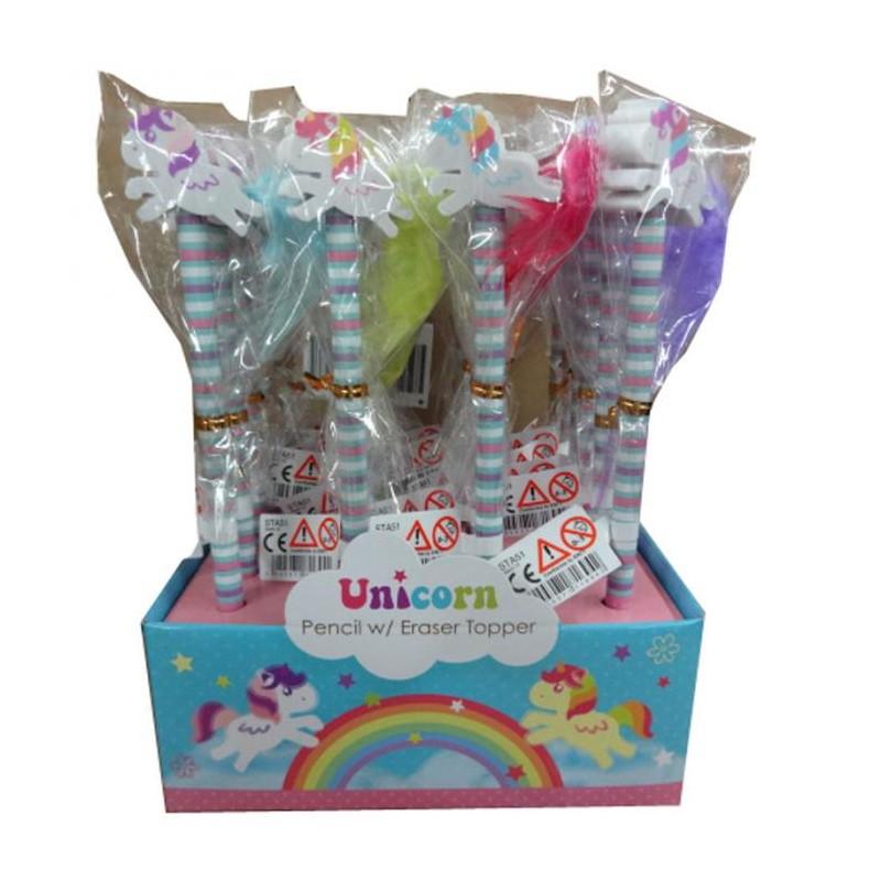 Crayon papier et gomme licorne queue rose marcoeagle - Papier toilette licorne ...